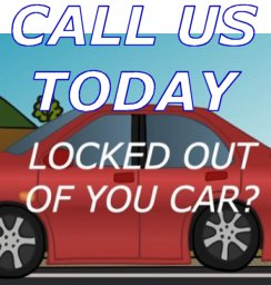 locked out service call us today