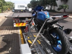 motor cycle and super bike towing durban